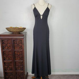 Morgan and Co. Elegant Formal Long Gown, 5/6